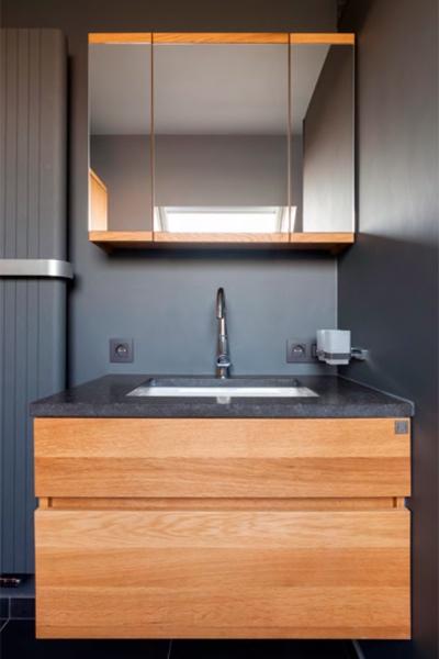 Renovatie van een kleine badkamer in Balegem - Renotechnics ...