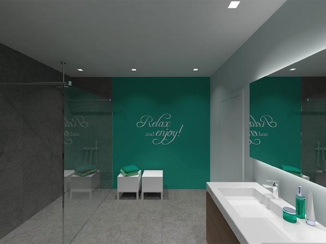 Moderne badkamer renovatie in zelzate - Badkamer renovatie m ...