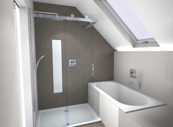 Renovatie van een kleine badkamer in Vinderhoute - Renotechnics ...